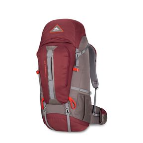 High Sierra Pathway 60L Pack in the color Cranberry/Slate/Redrock.