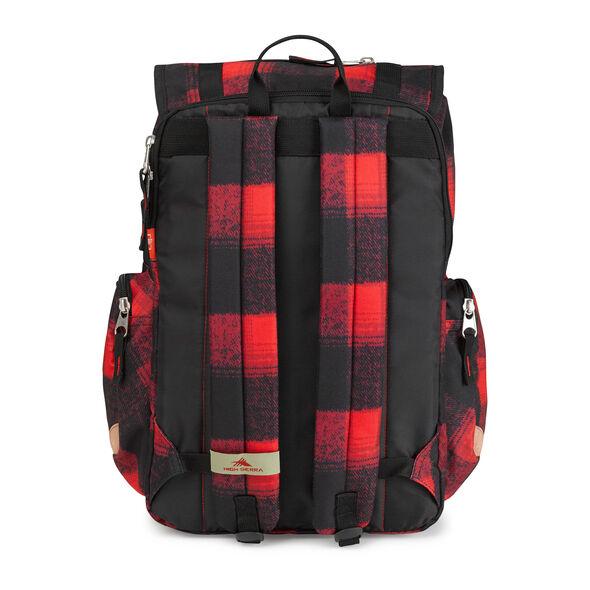High Sierra Emmett Backpack in the color Buffalo Plaid.