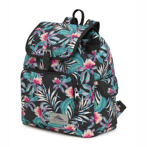 High Sierra Elly Backpack in the color Tropic Nights/Black.