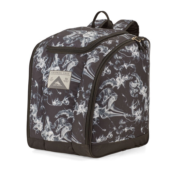 High Sierra Trapezoid Boot Bag in the color Black Steam/Black.