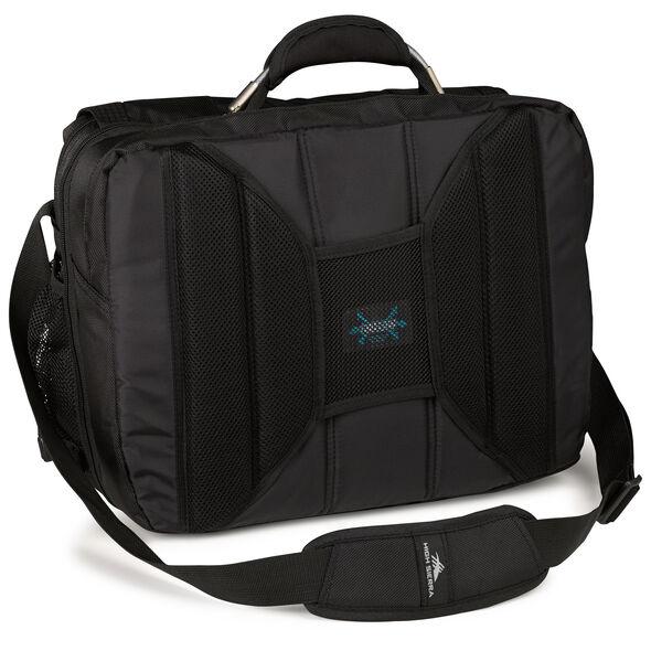High Sierra XBT TSA Messenger in the color Black.