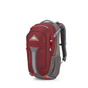 Pathway 30L Pack in the color Cranberry/Slate/Redrock.