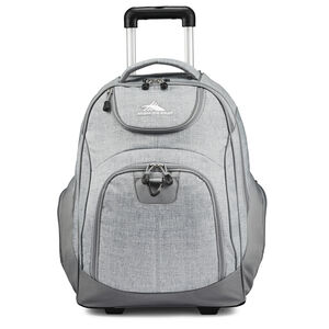 Powerglide Wheeled Backpack in the color Silver Heather.