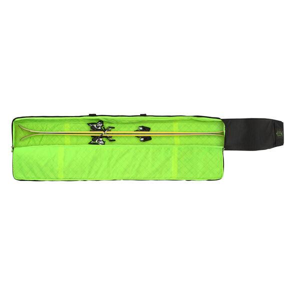 High Sierra Single Adjustable Ski Bag in the color Black/Zest.