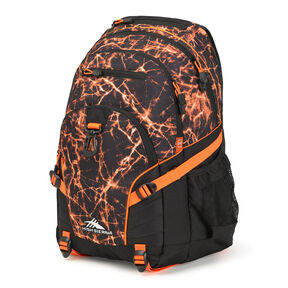 High Sierra Loop Backpack in the color Fireball/Black/Electric Orange.