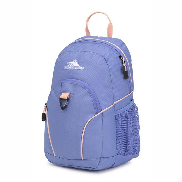 High Sierra Mini Loop Backpack in the color Lapis/Sand Pink.