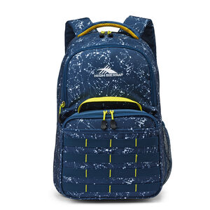 Joel Lunch Kit Backpack in the color Space Creatures/Rustic Blue/Glow.
