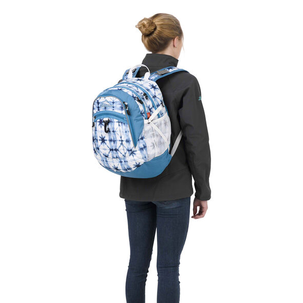 High Sierra Fat Boy Backpack in the color Indio Dye/Mineral/White.