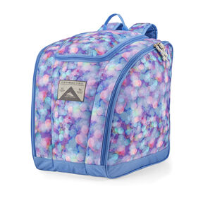 High Sierra Trapezoid Boot Bag in the color Shine Blue/Lapis.