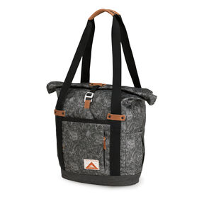 High Sierra Olmsted Clybourn Tote in the color Floral/Raven.