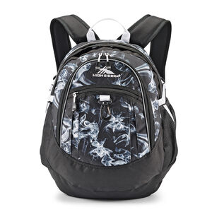 High Sierra Fatboy Backpack in the color Black Steam/Black/White.
