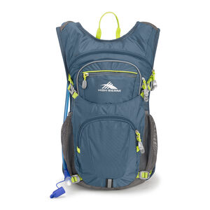 High Sierra HydraHike 16L Pack in the color Graphite Blue/Mercury/Glow.