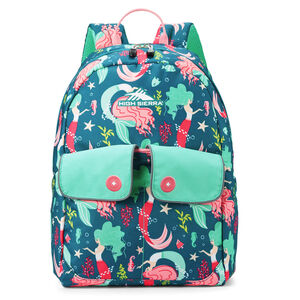 Chiqui Backpack in the color Mermaid.