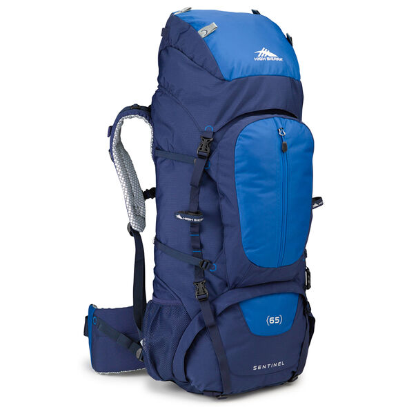 High Sierra Classic 2 Series Sentinel 65 Frame Pack in the color True Navy/Royal.