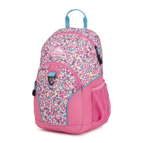 High Sierra Mini Loop Backpack in the color Prairie Floral/Tropic Teal.