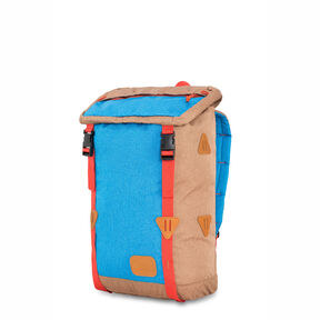 High Sierra HS78 Klettersack Backpack in the color Coconut/Sky/Red Rock.