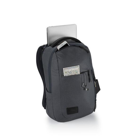 High Sierra Business ProSlim USB Backpack in the color Mercury Heather/Black.