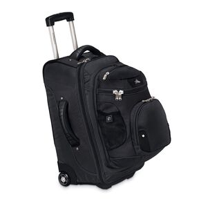"High Sierra AT3 22"" Wheeled Backpack in the color Black."