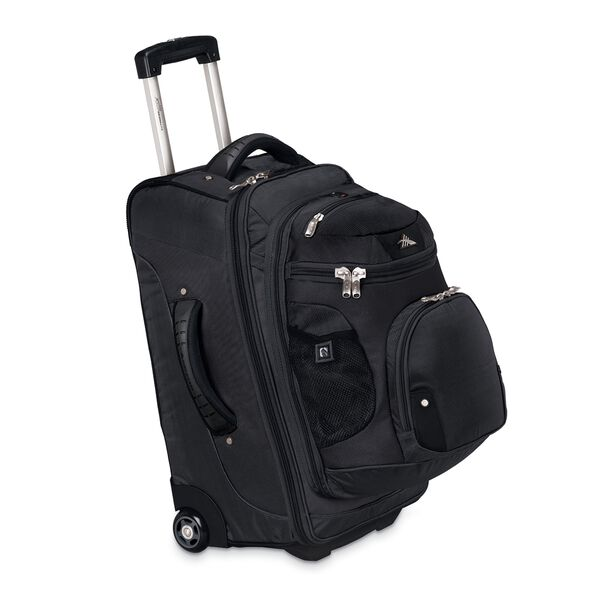 """High Sierra AT3 22"""" Wheeled Backpack in the color Black."""