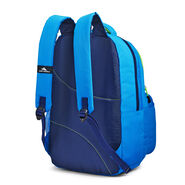 High Sierra Joel Lunch Kit Backpack in the color Sports Blue/True Navy/Lime.
