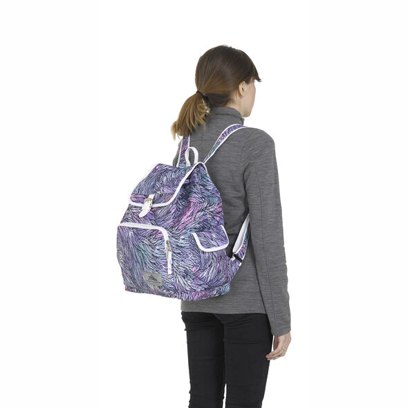 High Sierra Elly Backpack in the color Feather Spectre/Powder Blue.