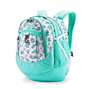 High Sierra Fatboy Backpack in the color Star Floral/Aquamarine/White.