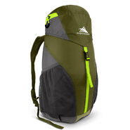 High Sierra Pack-N-Go 2 20L Sport Backpack in the color Moss/Mercury/Chartreuse.