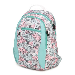 1dfe50261c High Sierra Curve Backpack in the color Safari Aquamarine White.