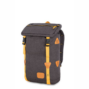 High Sierra HS78 Klettersack Backpack in the color Black/Gold.
