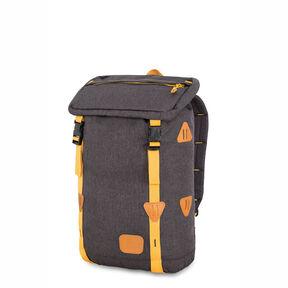 High Sierra HS78 Klettersack Backpack in the color Black/Gold.