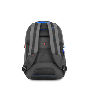 Decatur Computer Backpack in the color Mercury/Vivid Blue.