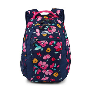 Curve Backpack in the color Summer Bloom/Fuchsia.