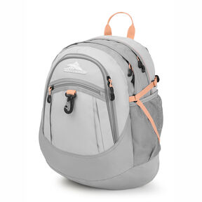 High Sierra Fatboy Backpack in the color Silver Ash/Sand Pink.