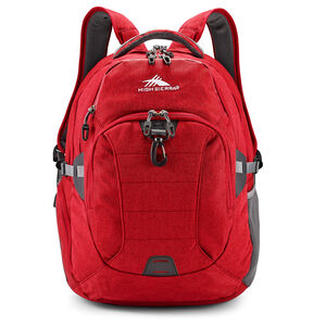 Jarvis Backpack in the color Chili Pepper/Slate.