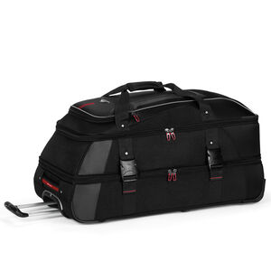 """AT7 32"""" Wheeled Duffel in the color Black."""
