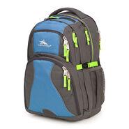 High Sierra Swerve Backpack in the color Slate/Mineral/Zest.