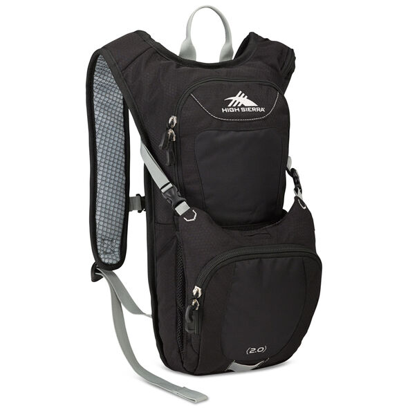 High Sierra Classic 2 Series Quickshot 70 Hydration Pack in the color Black/Silver.