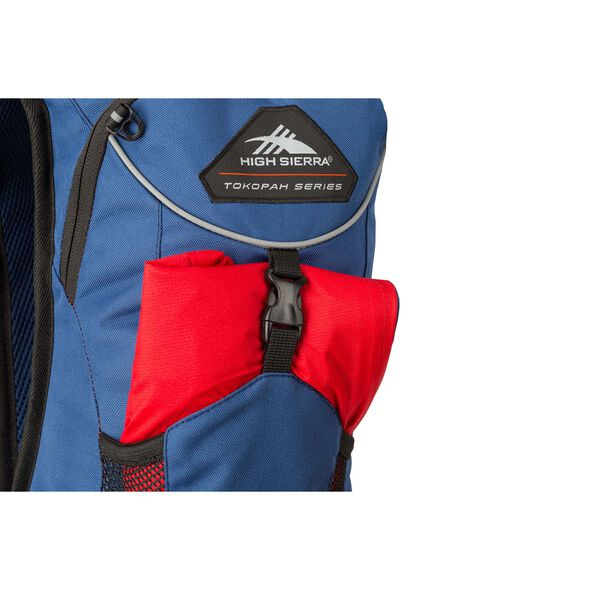 High Sierra Tokopah 4L Hydration Pack in the color Raven/Black/Zest.