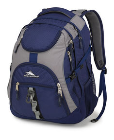 High Sierra Access Backpack in the color Navy/ Mercury.