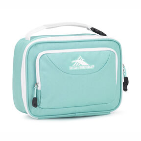 High Sierra Single Compartment In The Color Aquamarine White