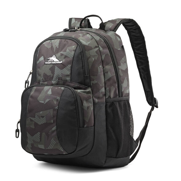 High Sierra Pinova Backpack in the color Shattered Camo.