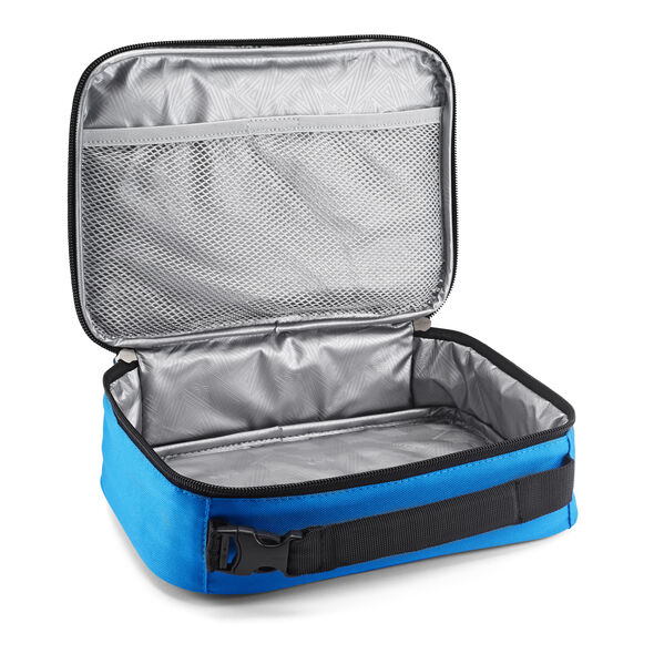 High Sierra Single Compartment Lunch Bag in the color Sports Blue/Black.