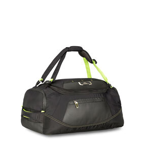 "High Sierra AT8 26"" Duffel Backpack in the color Black Zest."