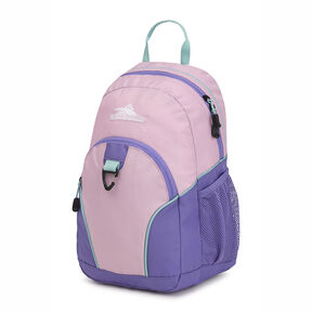 High Sierra Mini Loop Backpack in the color Iced Lilac/Lavender/Aquamarine.