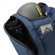High Sierra Trapezoid Boot Bag in the color Rustic Blue/Avocado.
