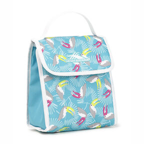 High Sierra Classic Lunch Kit in the color Toucan/Tropic Teal/White.