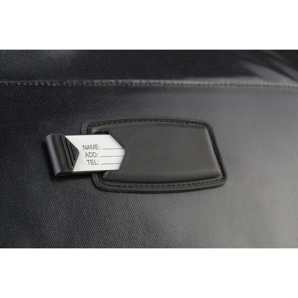 "High Sierra Kennesaw 30"" Drop-Bottom Wheeled Duffel in the color Black/Black/Black."