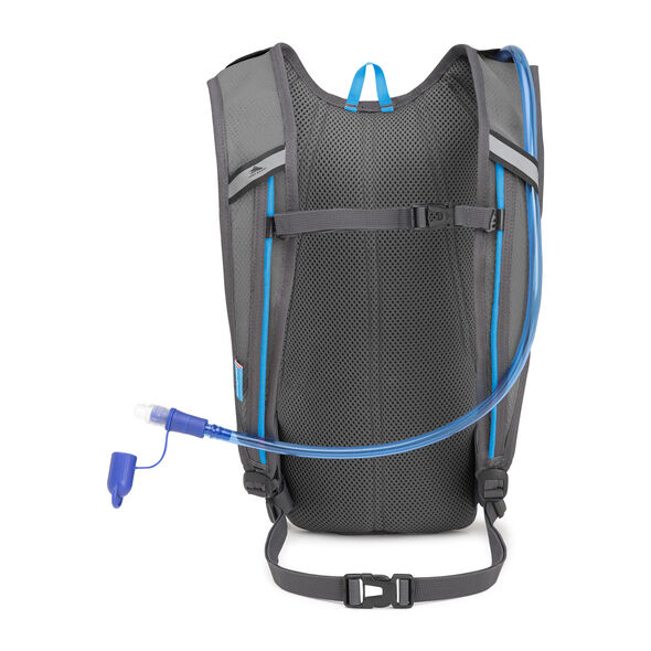High Sierra HydraHike 4L Pack in the color Black/Slate/Pool.