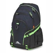 High Sierra Loop Backpack in the color Midnight Blue/Black/Lime.