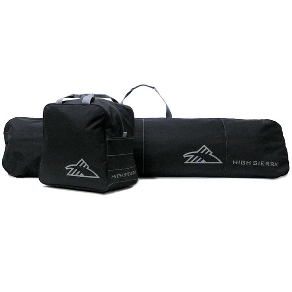 High Sierra Snowboard Sleeve and Boot Bag Combo in the color Black/Black.